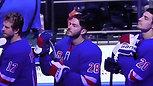 Christian Sebek - NYC Rangers National Anthem 3-24-18