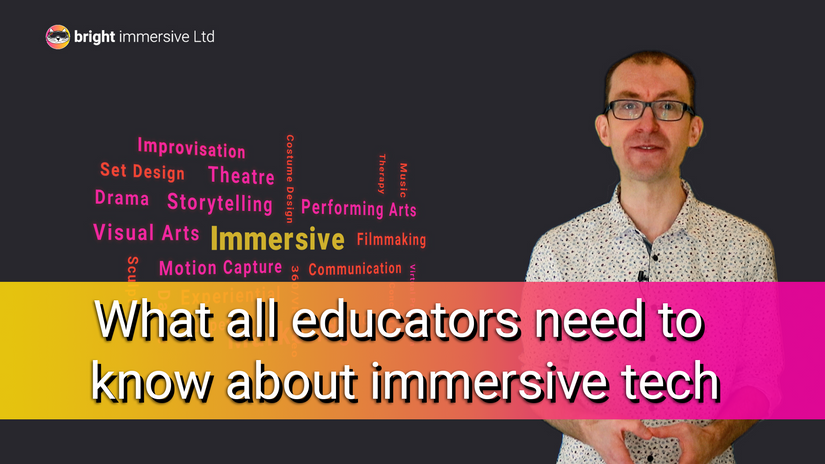 What educators need to know about immersive technologies