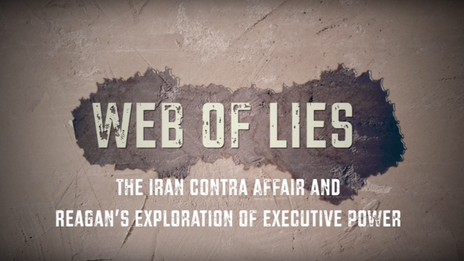National History Day Documentary - A Web of Lies: The Iran Contra Affair