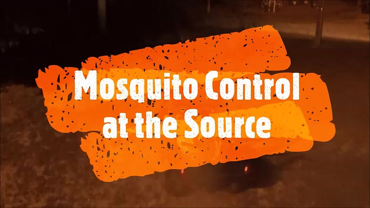 SkeeterCide Mosquito Control ATV Fogging video