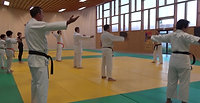 Karate avec son
