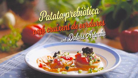 11 - Patata prebiòtica amb cruixent de verdures