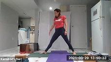 ♀ Yoga & Pilates with Karmit 03.29.21
