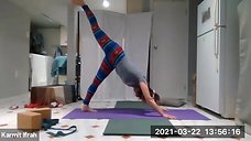 ♀ Yoga & Pilates with Karmit 03.22.21