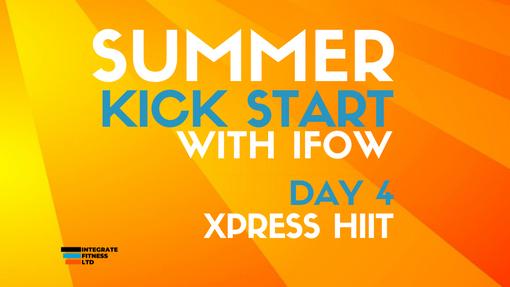 Summer Kick Start - Day 4 04/07/21