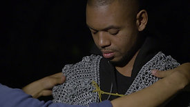 Ashley Panton Behind the scenes Chainmail2