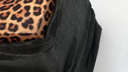 Black bag leopard