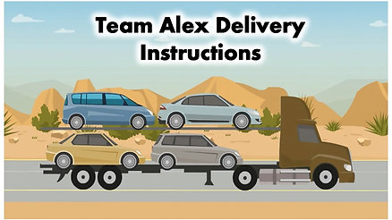 Transport Delivery Instructions