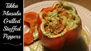Tikka masala Stuffed Peppers