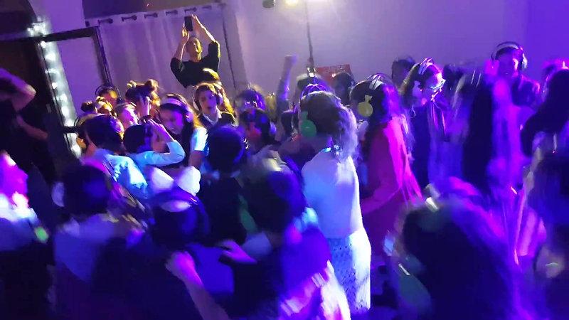 מסיבת אוניות & הגל השקט ריקודים בבת מצווה