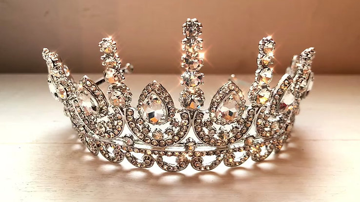 Dazzle in Our Tiaras