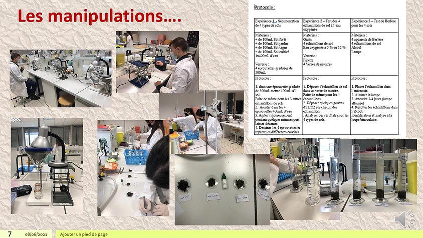 Biotechnologies au service des sciences environnementales - Lycée de Chambéry
