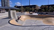 Sydney Skate Park opening