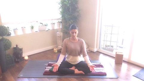 Recline Position Meditation