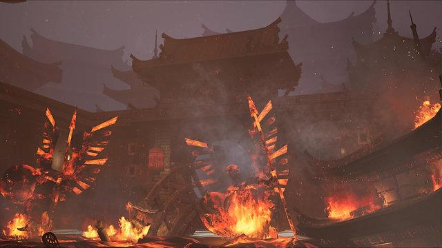 Fiery Temple