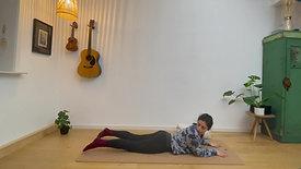 7 min Menstruation Yoga Routine with Raquel