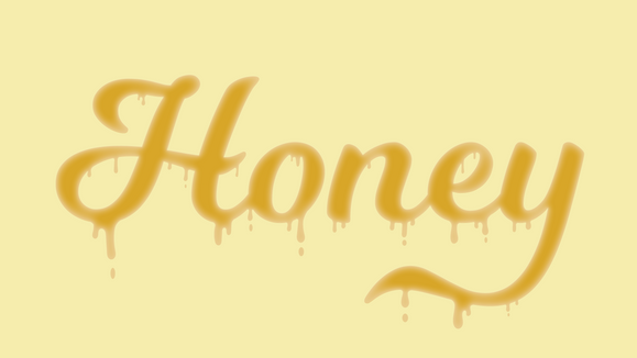 DRIPPING HONEY FONT