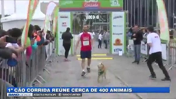 Primeira Cão Corrida de Curitiba!