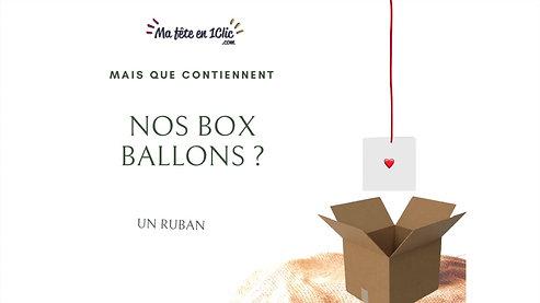 Box ballons