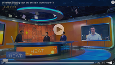 Xiaochen Zhang spoke at CCTV's The Heat: Looking back and ahead in technology