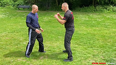 KML Techniques P1: Inside defence 1,5 against straight punch.