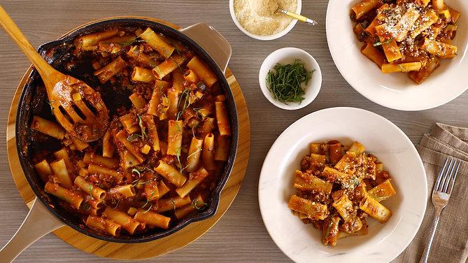 Anolon Kitchen to Table Rigatoni Recipe