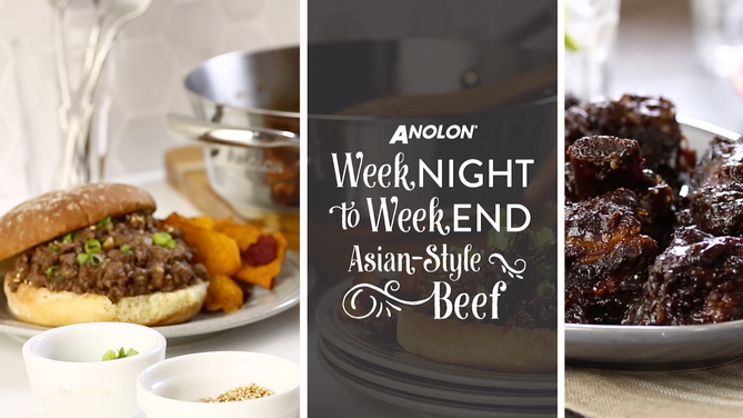Anolon Weeknight to Weekend Recipes