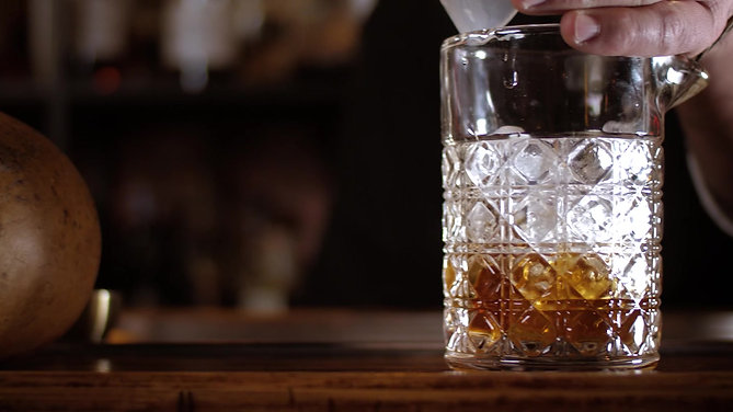 Barrel House - Gourd Aged Old Fashioned