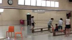 תלמידי מגמת המחול שכבת י' ביום נקיונות וצביעה של חללי המחול בבית הספר