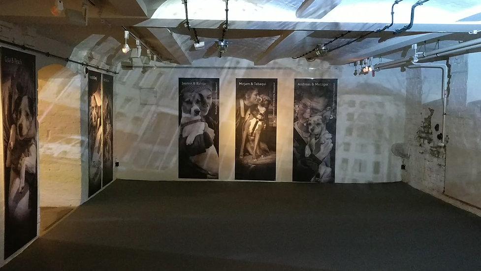 Leo_Gesess_Installation_Obdachlosigkeit_Gegenwart_Düsseldor