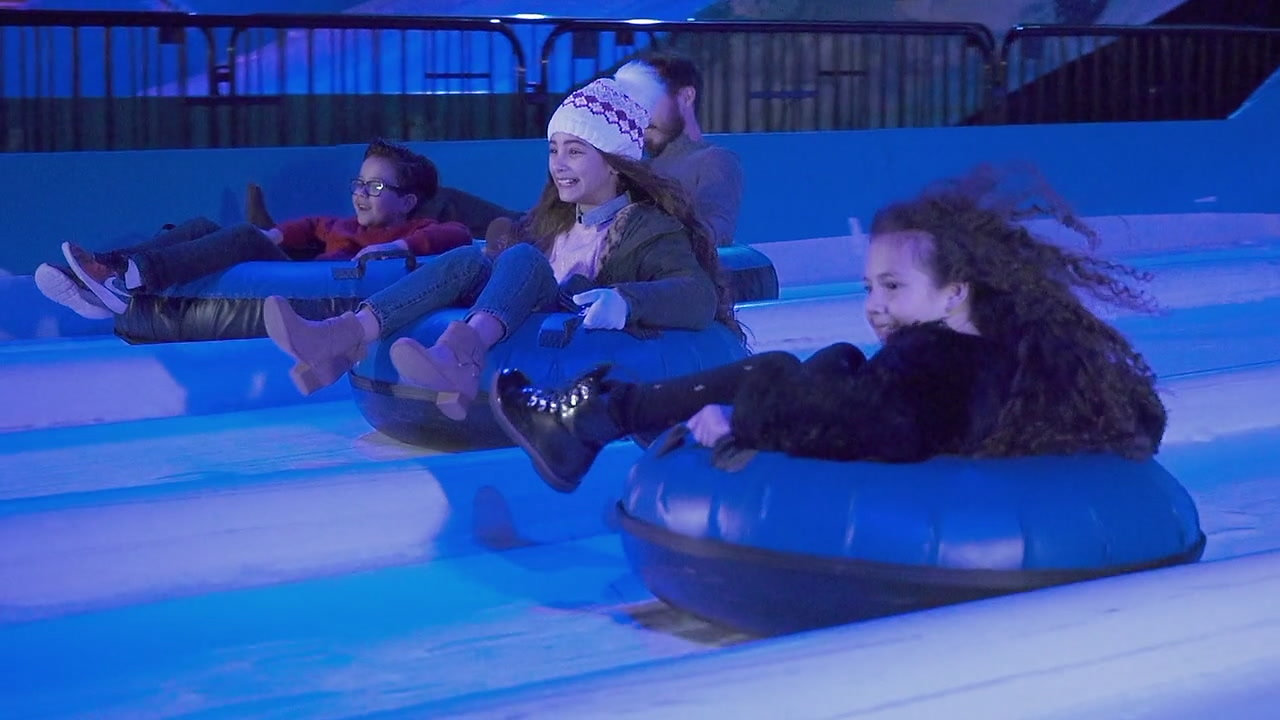 PPG's SNOW TUBING!
