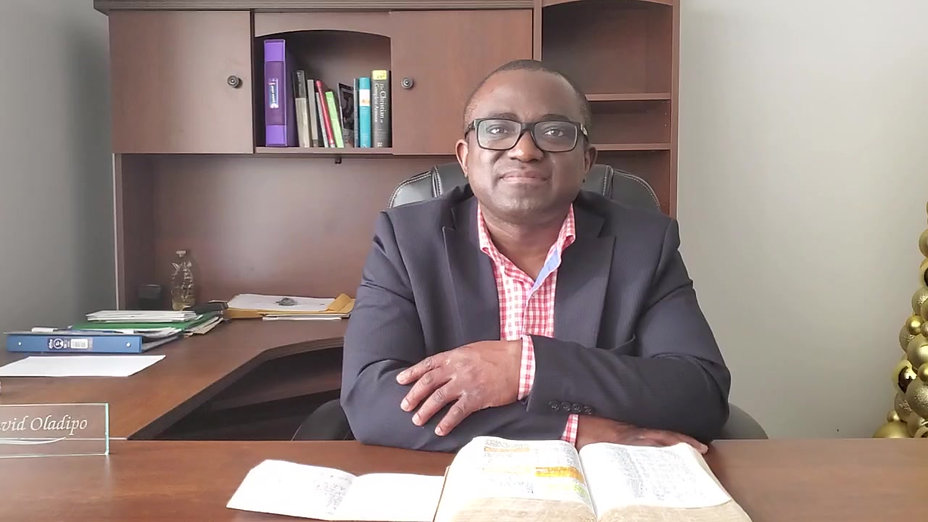 Monthly Messages from Pastor David