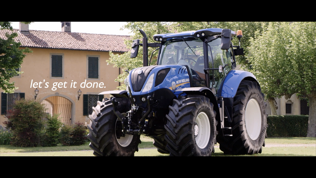 New Holland_Delivery Tractor