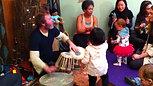Dancing Kids with Tabla Dan