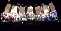 Music in the Air/Jingle Bells-Combined Choirs