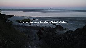 En chemin vers le Mont Saint-Michel