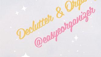 Declutter & Organize - 25 - Tidy Up Tuesday