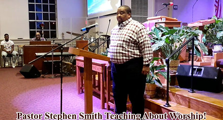 Pastor Stephen Smith Teaching Preview 3 minute