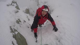 Winter Climbing in Snowdonia