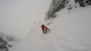 Welsh winter mountaineering