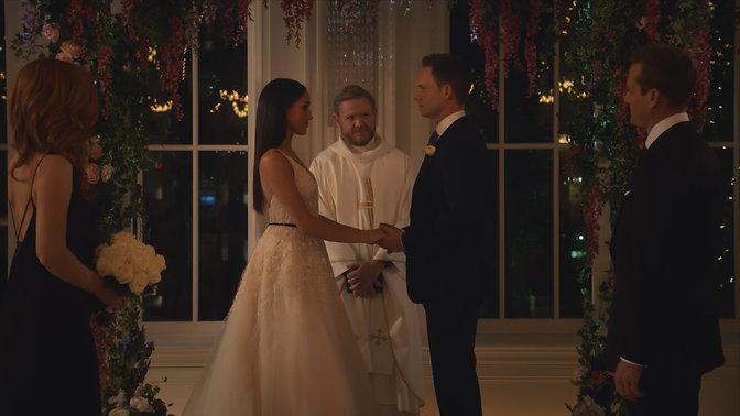 SUITS - Meghan Markle Wedding Scene