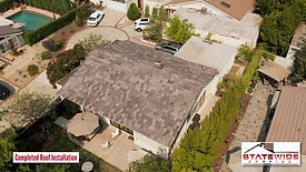Slate Tile Roof Replacement