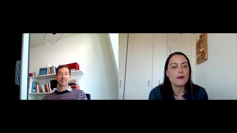 Martin Wigger im Gespräch mit Daniela Cianciarulo
