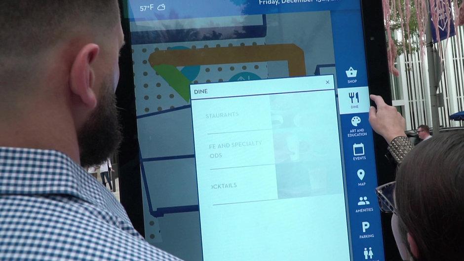 Digital Kiosk Demo