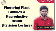 Flowring Plant Families & Reprodative Health (Revision Lecture)