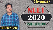 Chemistry Solution (NEET 2020)