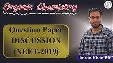 Organic Chemistry Solution (NEET 2019)