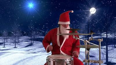 """Père Noël """"Keepcool"""" Batteur"""