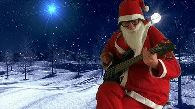 "Père Noël ""Groovyman"" Bassiste"