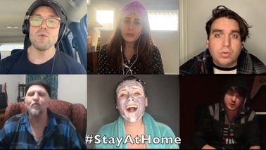 From Now On [We Will Stay At Home] (A COVID-19 Parody)